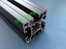 Perfil de aluminio Preto 40x40 reforçado X 650MM