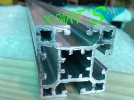 Perfil de aluminio reforçado 40x40  x 650mm